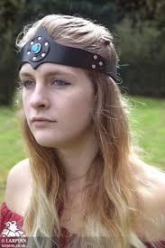 jewelled headband jewelled headband larp inn hoods hats