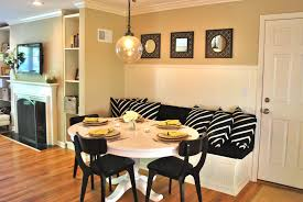 White Upholstered Dining Room Chairs by Home Organization Dining Room Kitchen Design Ideas With Small