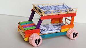 Cars Bunk Beds Popsicle Stick Crafts Bunk Bed Car 3
