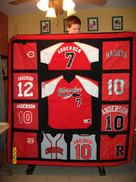 quilt from old baseball jerseys love this would use old youth quilt from old baseball jerseys love this would use old youth football jerseys instead