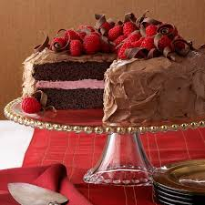 chocolate raspberry cake recipe taste of home