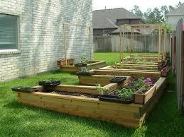 terraced vegetable garden endearing home vegetable garden design