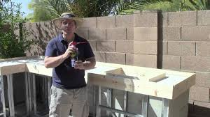 Outside Kitchen Island by Outdoor Kitchen Tv Show 4 Youtube