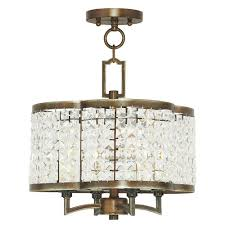 Mini Bronze Chandelier Worth Home Products Hardwired Pendant Series 4 Lights Brushed