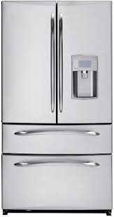 Refrigerator With French Doors And Bottom Freezer - new ge profile french door double drawer bottom freezer