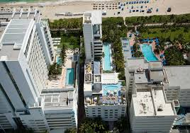 stylish swimming pools at soho beach house in miami van kirk pools