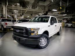 Ford F250 Work Truck - first cng propane 2016 ford f 150s rolling off the assembly line
