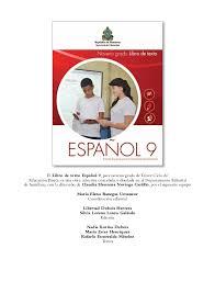 colombia libro de lectura grado 6 espanol noveno grado