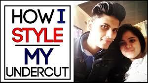 modern undercut hairstyle modern undercut hairstyle tutorial mayank bhattacharya mayank