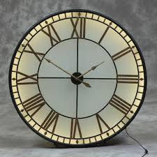 big wall clocks interior design