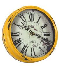 Rustic Charm Home Decor Take A Look At This Red Rustic Wall Clock By Rustic Charm Home