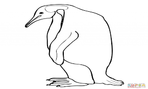 coloring pages at penguin coloring page penguin coloring page