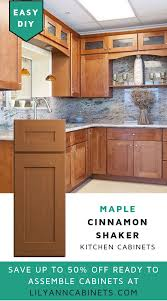 how to clean kitchen cabinets made of wood add the warmth of cinnamon to your kitchen with