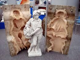 rubber molds to pour concrete statues pottery