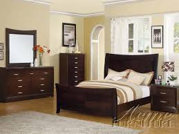 Marble Top Dresser Bedroom Set Danville 6 Piece Black Marble Top Espresso Finish Bedroom Set By