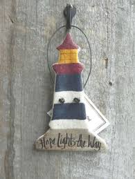 lighthouse ornament wedding favor lighthouse decor