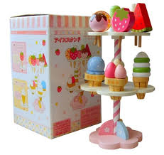 baby toys simulation magnetic ice cream wooden toys set pretend