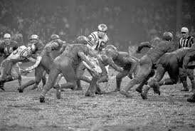 recalling eagles own brush with 1968 s mud bowl