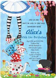 alice in wonderland party invitations template alice in wonderland