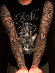 amazing gorilla portrait tattoo on shoulder real photo pictures