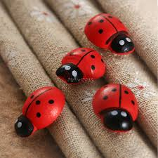 cute 50pcs wall stickers wooden ladybug insect sticker fridge cute 50pcs wall stickers wooden ladybug insect sticker fridge