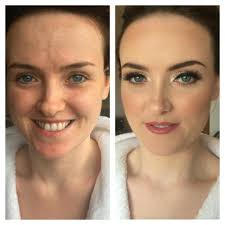 Wedding Hair Extensions Before And After by Makeup Artist Glasgow Bridal Makeup Photos Louiseballantine Com