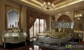 Luxury Bed Frame Evangelino Luxury European Style Bedroom Set