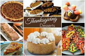 thanksgiving desserts and our delicious dishes recipe