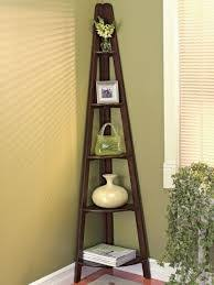 Lyss 5 Tier Corner Ladder by Lyss 5 Tier Corner Ladder Bookcase Shelf Corner Ladder Shelf