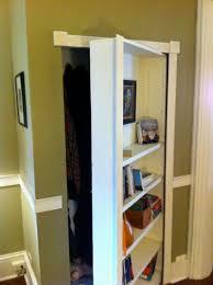 turn a bookcase into a secret door