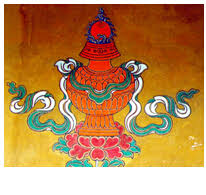 Buddhist Treasure Vase Eight Auspicious Symbols Chinese Culture Page 1