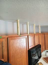 Adding Kitchen Cabinets How To Easily Add Height To Your Kitchen Cabinets Inspiration