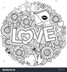 design coloring book vector coloring book design wedding stock vector 562630927