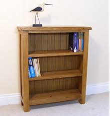 Solid Oak Bookcase Uk Cotswold Rustic Small Solid Oak Bookcase Office Furniture 890 X