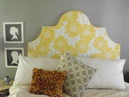 Curved Upholstered Headboard by Fancy Upholstered Headboards To Do Yourself