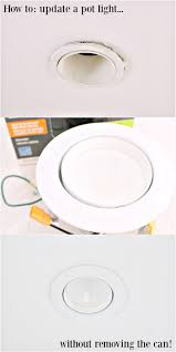 Fisheye Recessed Light by How To Update Pot Lights Without Replacing The Can Dans Le Lakehouse