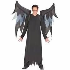 Halloween Costume Cowboy Amazon Inflatable Black Demon Wings Halloween Costume