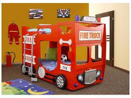 chambre pompier cdiscount bois superposes enfants fille camion chambre personne but