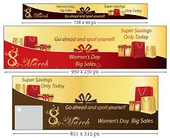 s day sales 8 march banner set for women s day stock vector illustration of