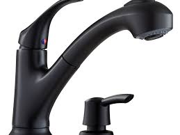 sink u0026 faucet shop pfister shelton black handle pull out kitchen