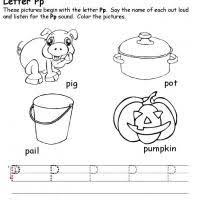 8 best images of printable preschool worksheets letter p free
