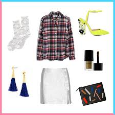 3 ways to dress up a plaid shirt brit co