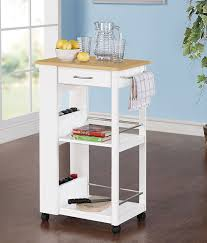Small Kitchen Carts And Islands Wonderful Looking Small Kitchen Carts Interesting Ideas Small