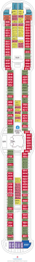 Enchantment Of The Seas Deck Plan 3 by Radiance Of The Seas Cabin 8640 Category 1d Ocean View