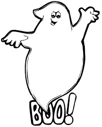 ghost coloring fun halloween ideas boo ghost