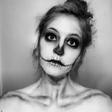 Halloween Skeleton Make Up by Subtle Skeleton By Tallskinnywhitegirl On Deviantart