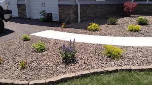 low maintenance landscape design ideas for front yards in