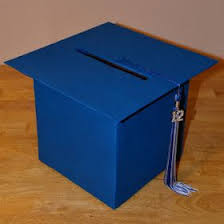 memorable graduation gifts box to hold graduation card ideas for a memorable graduation party