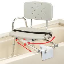 siege pivotant pour baignoire banc de transfert coulissant et pivotant pour intérieur de baignoire