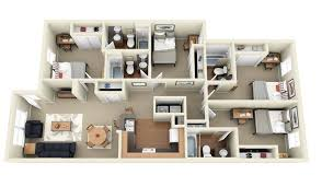 4 room house 50 four 4 bedroom apartment house plans bedroom apartment